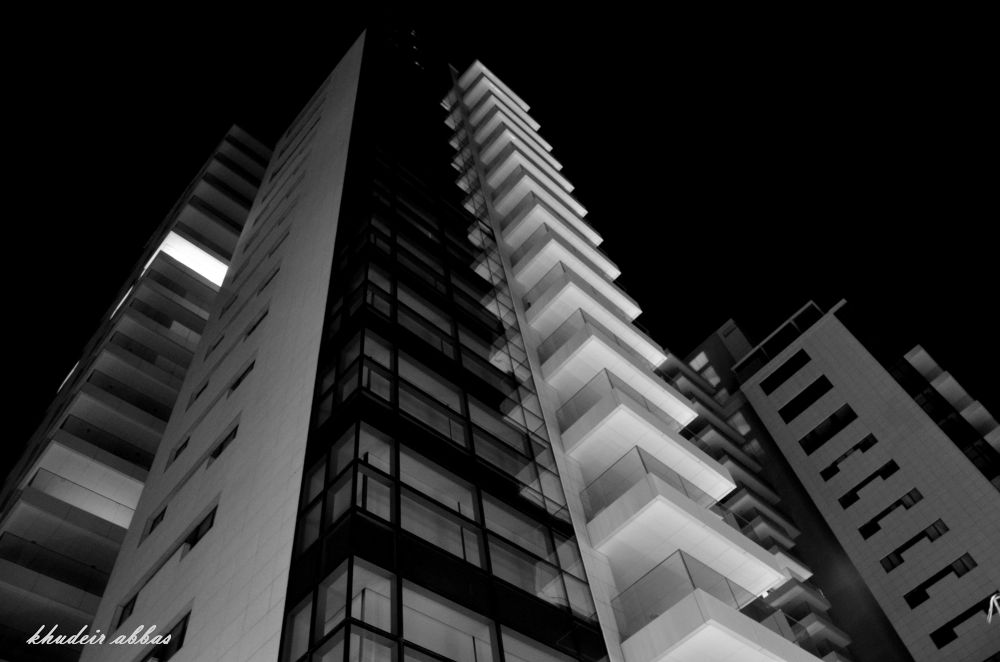 bad night with the security of the building , limassol . cyprus . 10 . 31 . 2013 by jassim