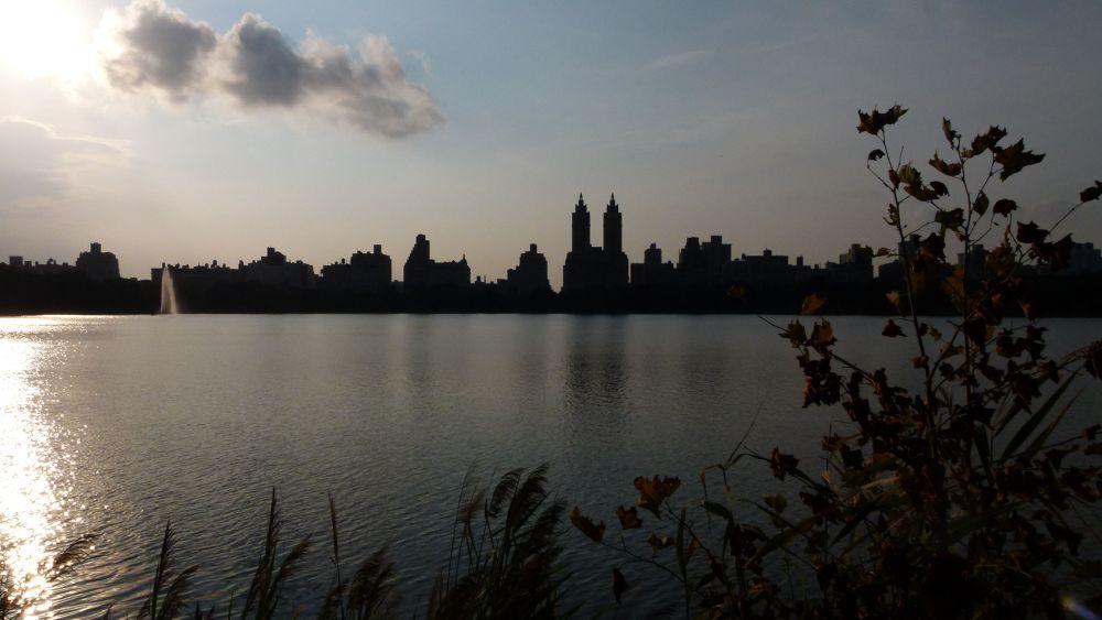 Central Park Reservoir by Henk de Groot