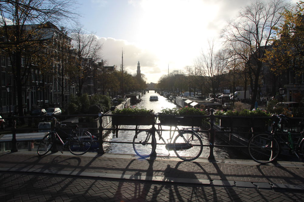 Amsterdam in the afternoon by Henk de Groot