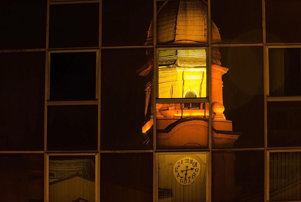 Tower clock by Miro Dezulovic