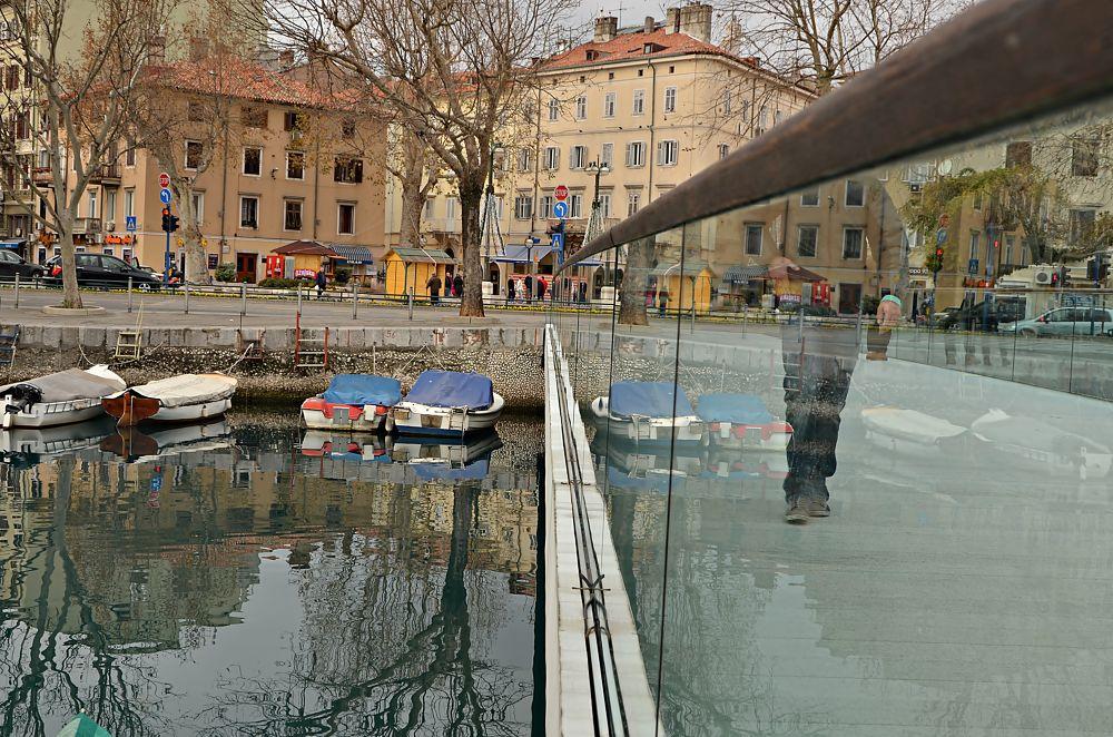 crossing by Miro Dezulovic