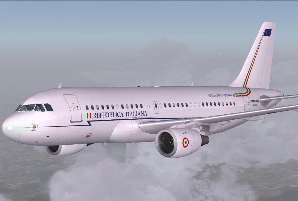 Repubblica Italiana Airbus- A319 by IIP