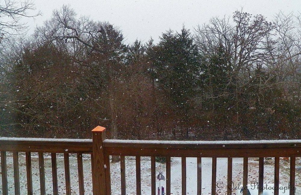 Snow in the Ozarks by pvporter