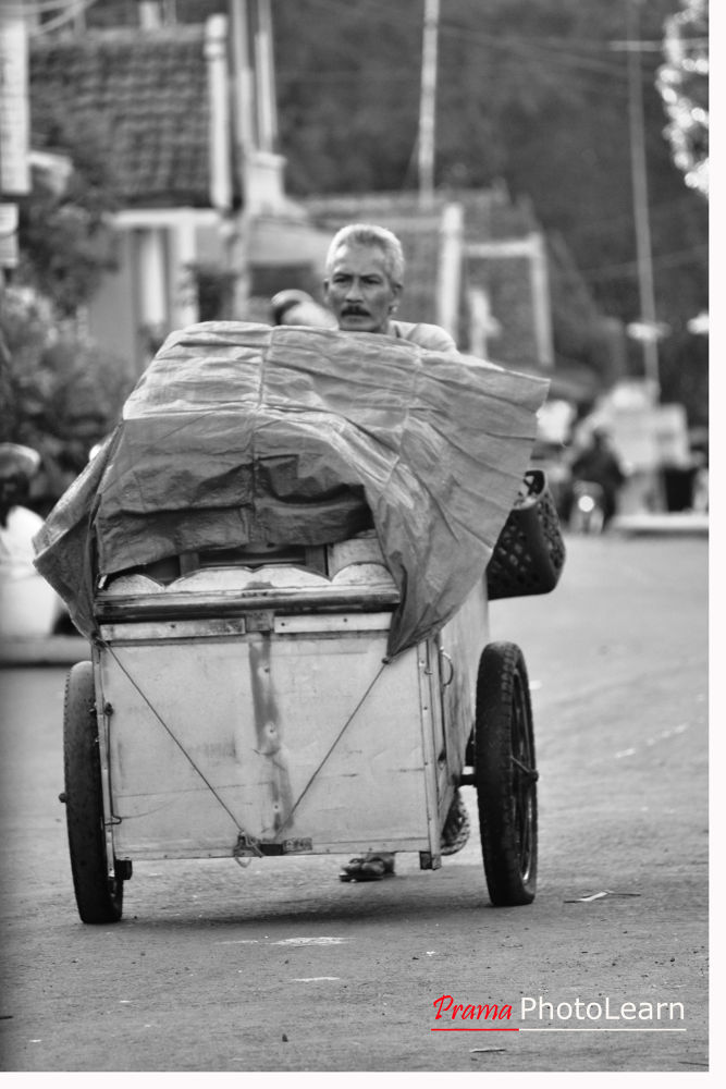 Photo in Street Photography #black and white #street photography #carts #vendor #cadger