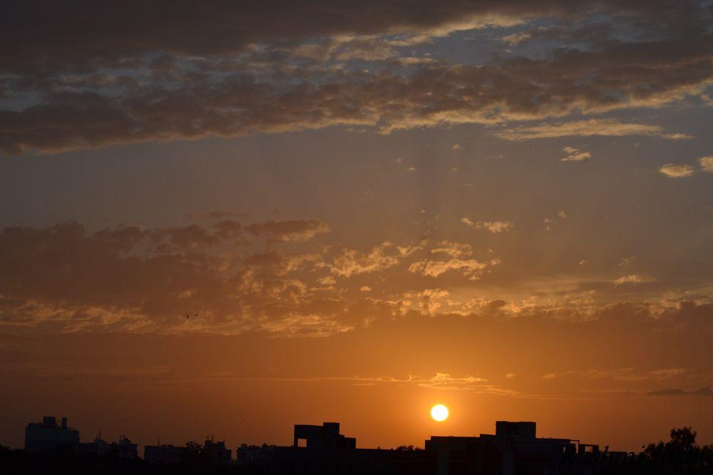 Sun set by Rashmi Joshi