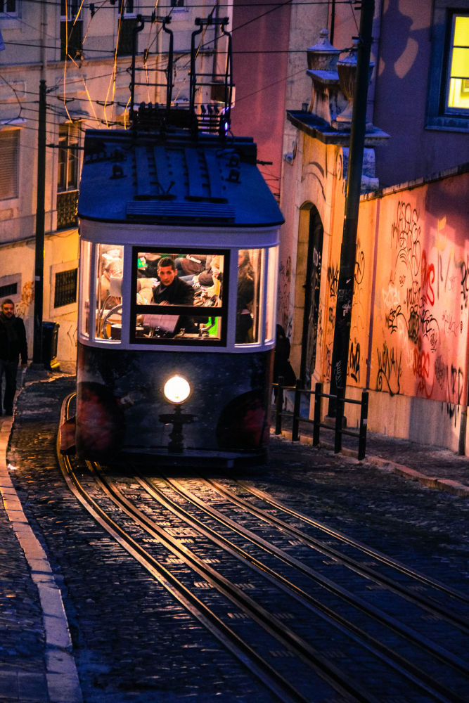 Lisboa - Tramway by LoraPhotographie