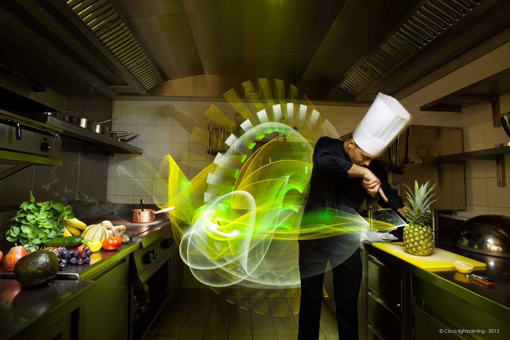 Light the Kitchen... by ciscolightpainting