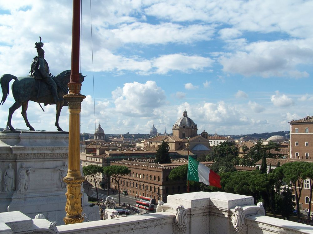 Rome, Italy with Vatican in background by Clem Walsh Photography