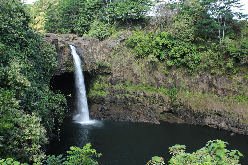 Rainbow Falls - Hilo - Hawaii by Clem Walsh Photography