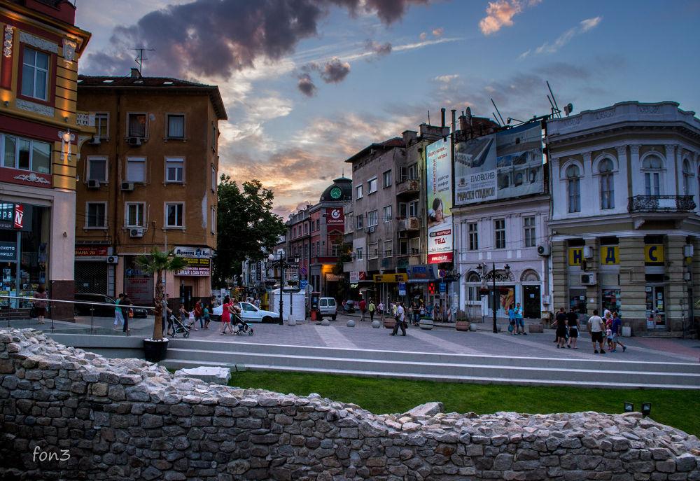 Plovdiv, Bulgaria by elenatrifonova10