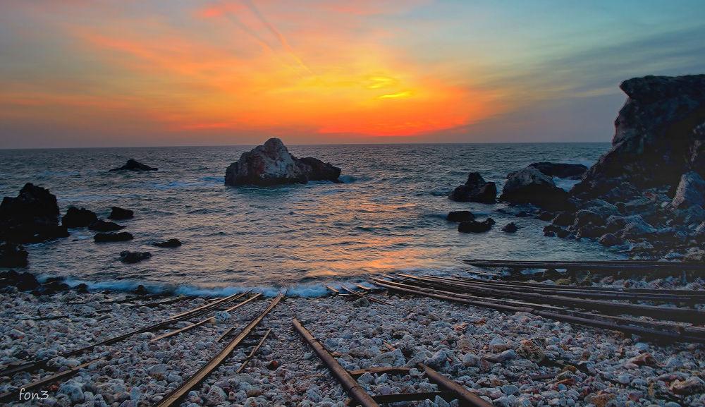 The Lonely Sea by elenatrifonova10