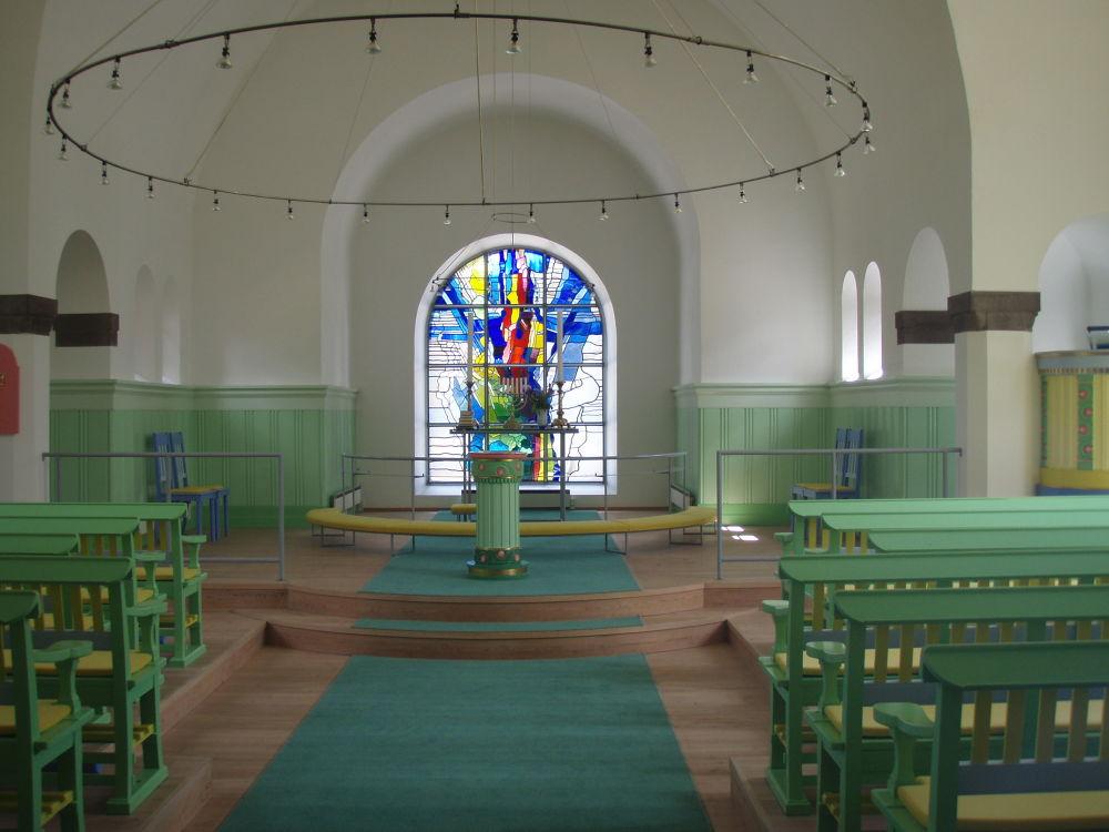Uhre church by Dorit Bach