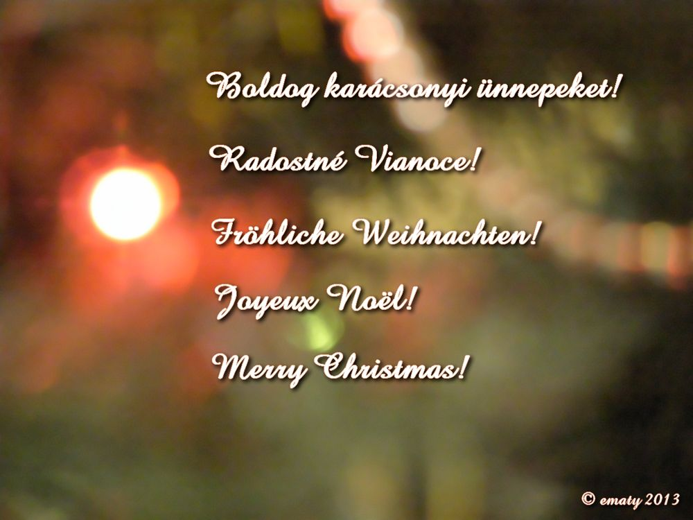 Merry Christmas! by ErikaM