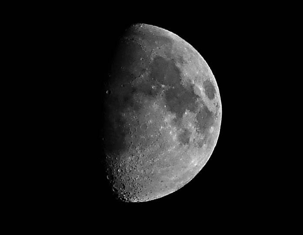The Moon by bradeckelphotography