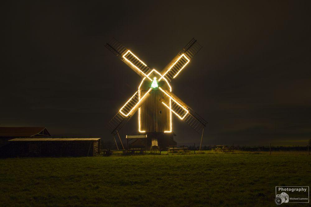 Bockwindmühle Danstedt by Michael Lumme
