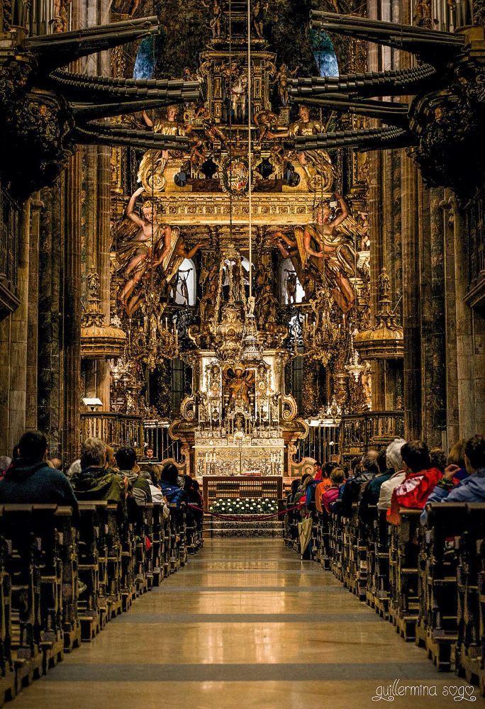 Catedral de Santiago de Compostela by GuillerminaSogo
