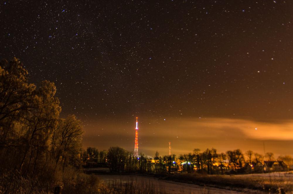 Night by Rudolfs Evardsons