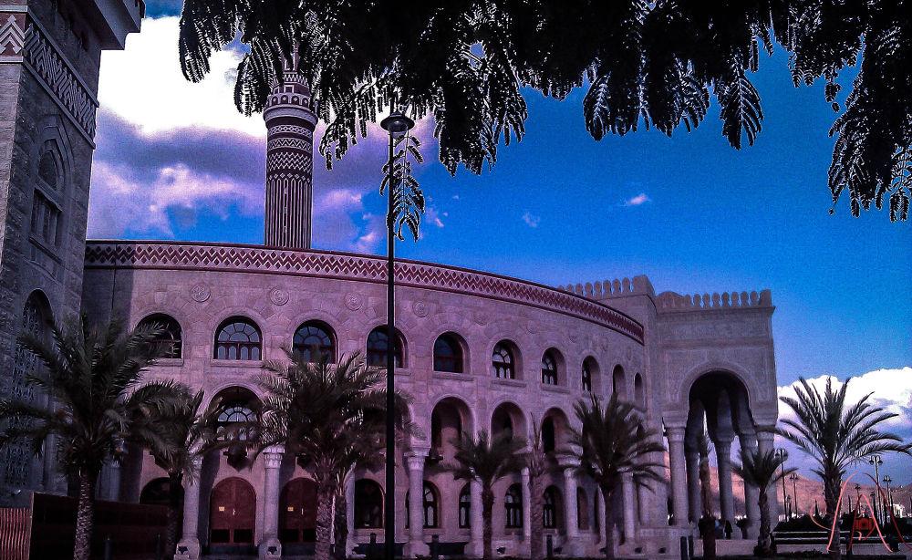Alsaleh Mosque  by abdalellah abdalqader aldhorae