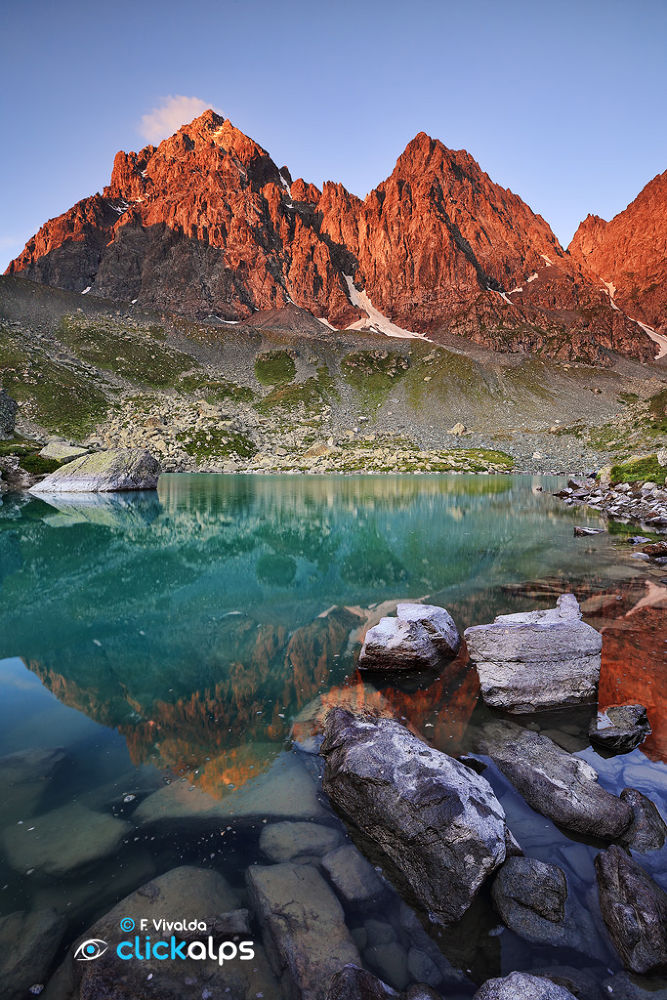 Monviso Reflections by VivaldaFabio