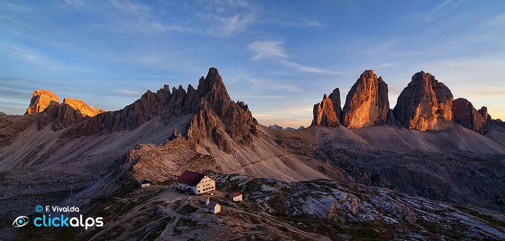 Locatelli and 3 Peaks of Lavaredo by VivaldaFabio