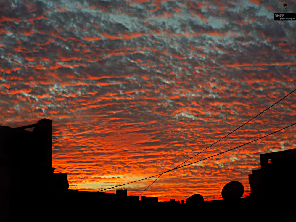 sky today  by Muhammad Amer