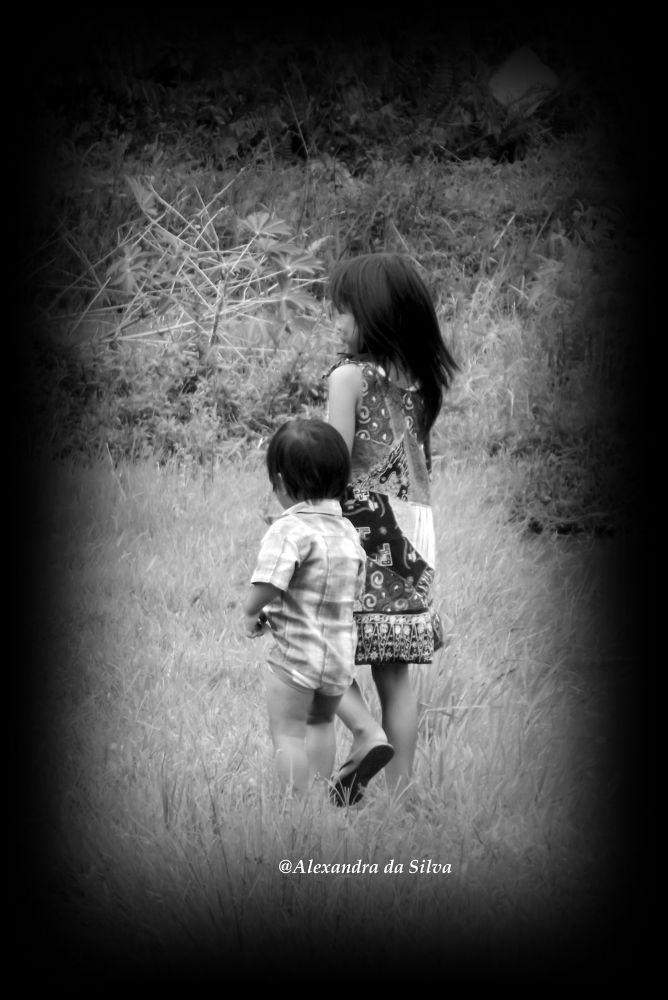 Me and My Sister by ALEXANDRA da SILVA