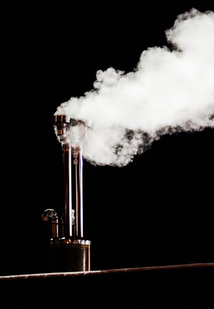 Smoke stack by michaelbrausen