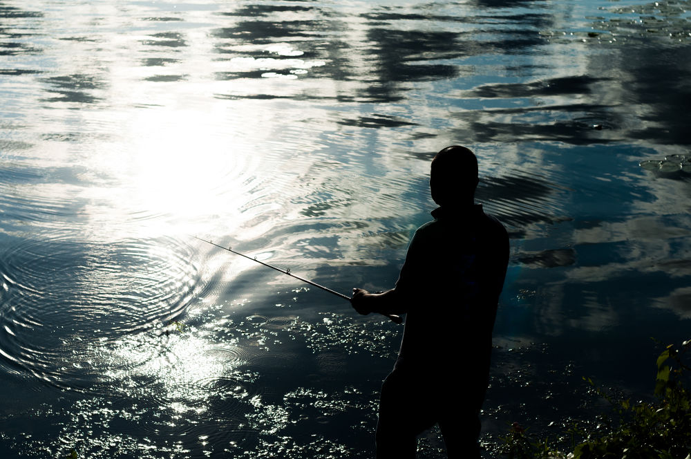 Just fishing  by michaelbrausen