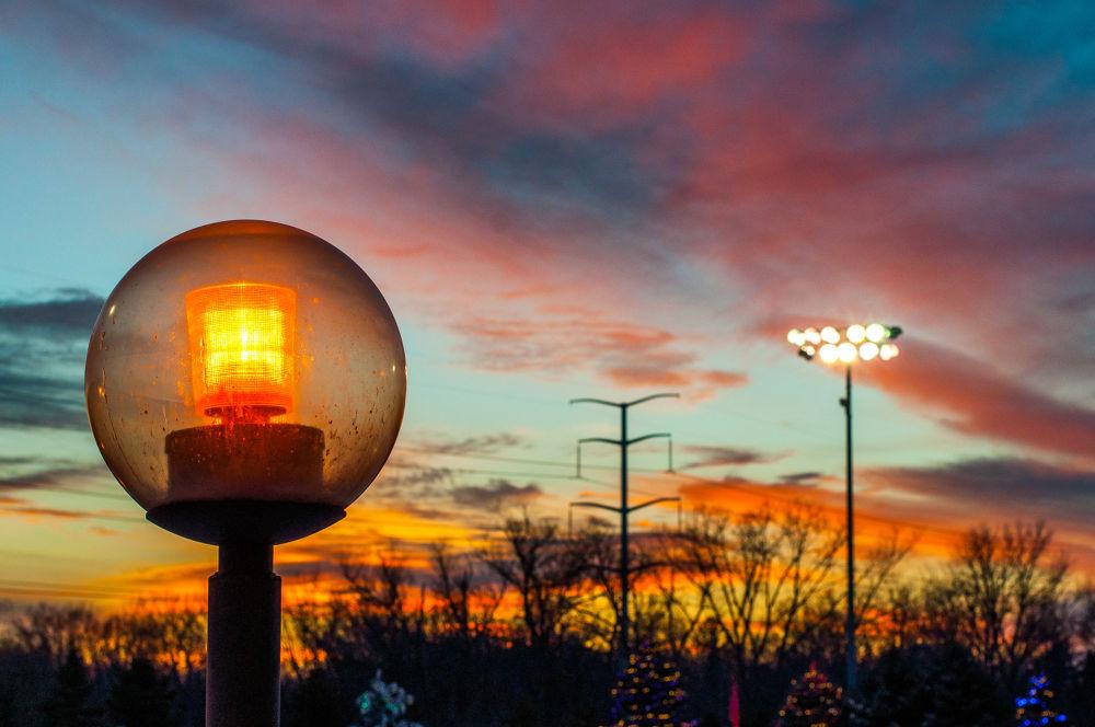 Photo in Random #street #light #sunset #color #orange #clouds #family #secret #dicipline