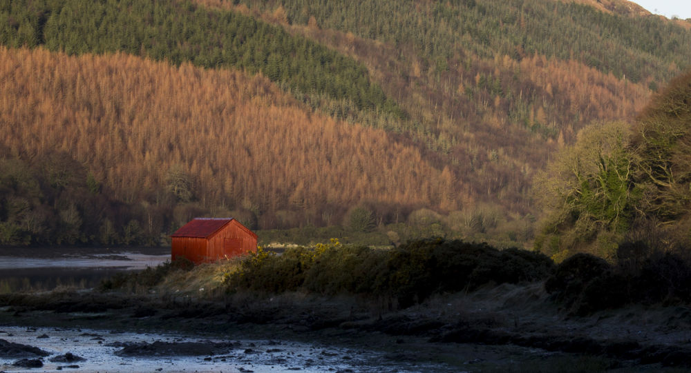 The Red House Narrow Water by andyhiggs2