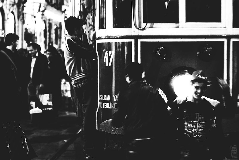 Tramcar, Taksim by Musato