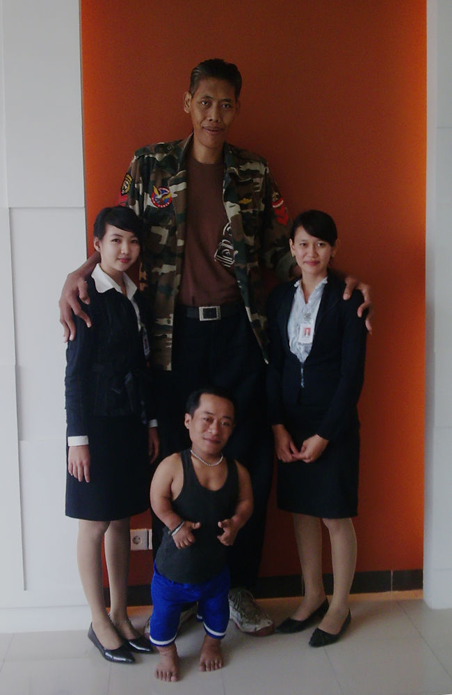 3 Sizes of Human by Iwan Setiawan