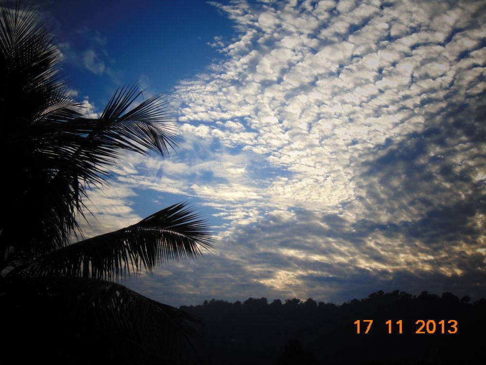 sky is always beautiful  by HIMANGSHU
