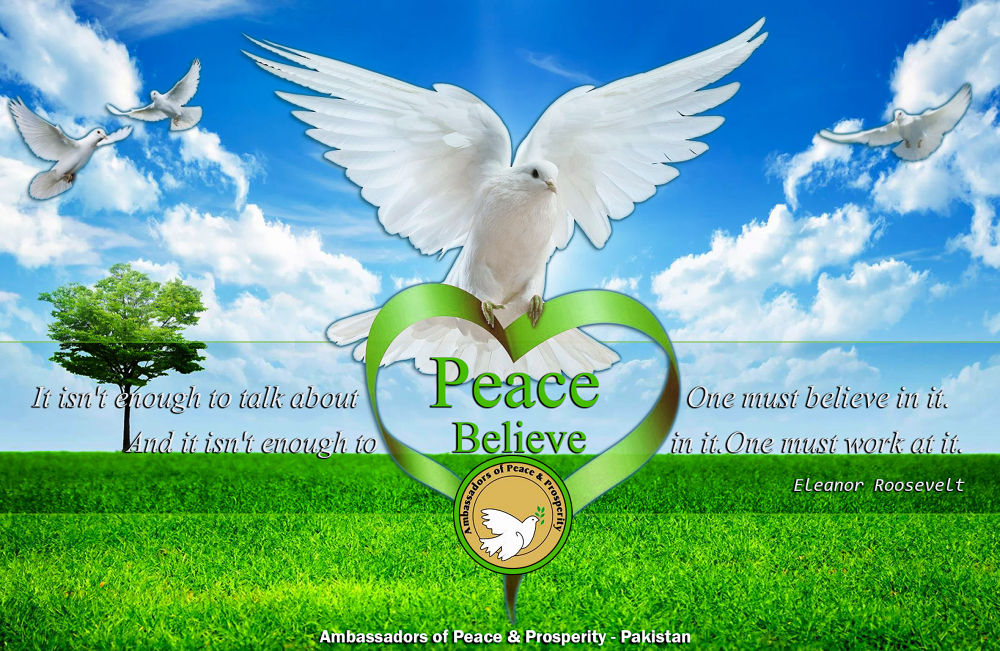 Love Peace by alyjz