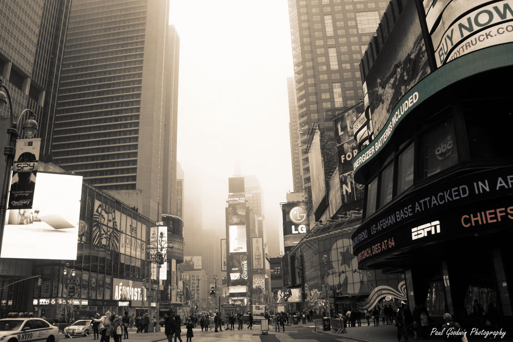 NEW YORK, Times Square. by paulgoodwin5524
