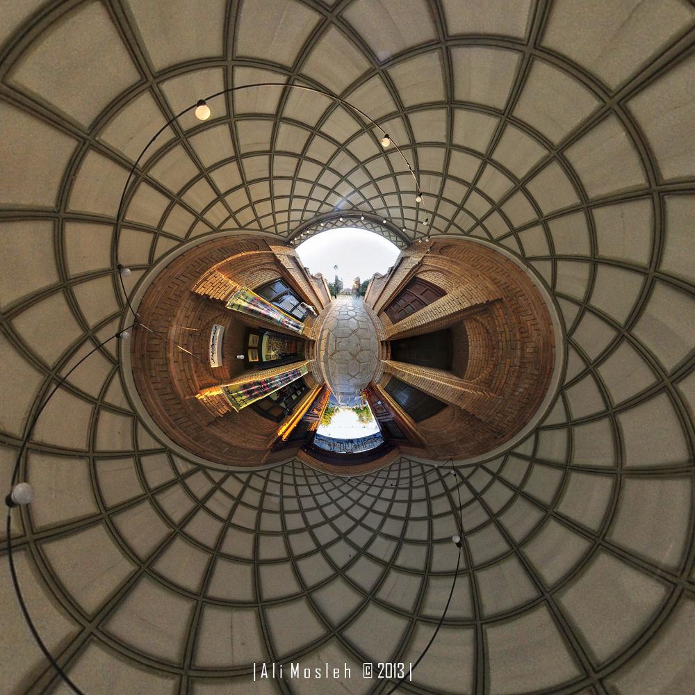 Afif Abad Garden | Entrance by Ali mosleh