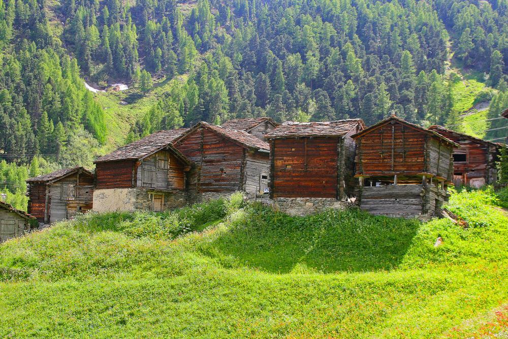 Foothills near Zermatt by RusselWinterflood