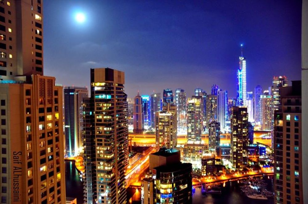 Dubai JBR sky by Saif