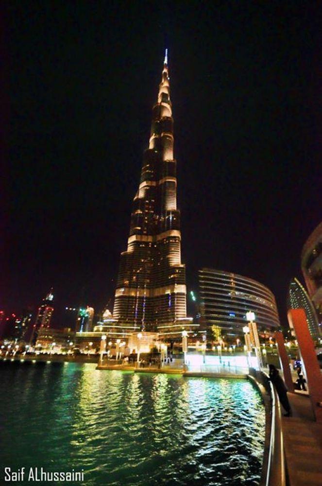 Burj Khalifah by Saif