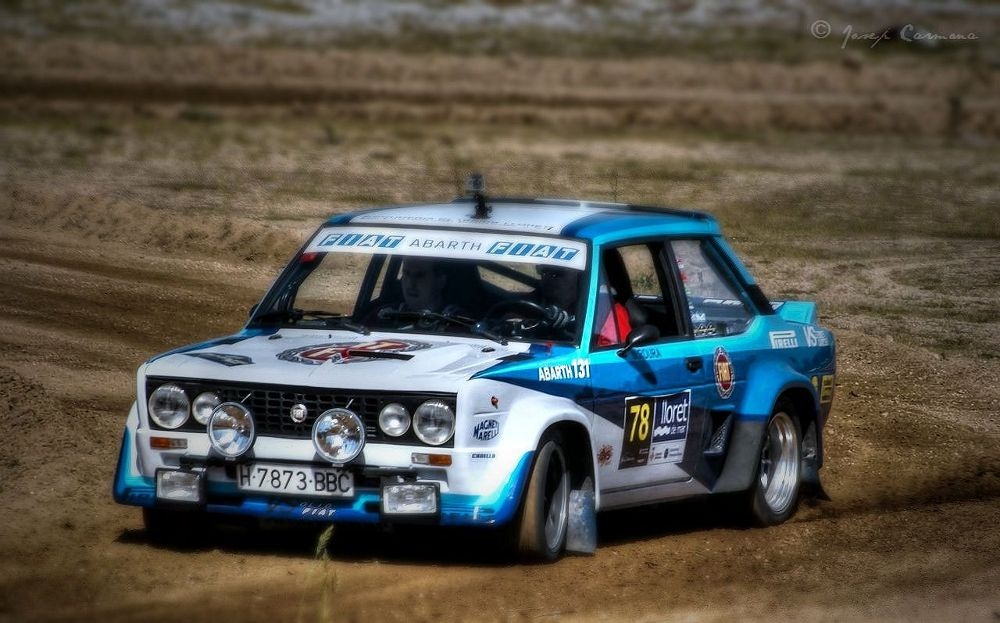 Fiat Abarth 131. Rally Lloret de Mar by JosepStartecnia