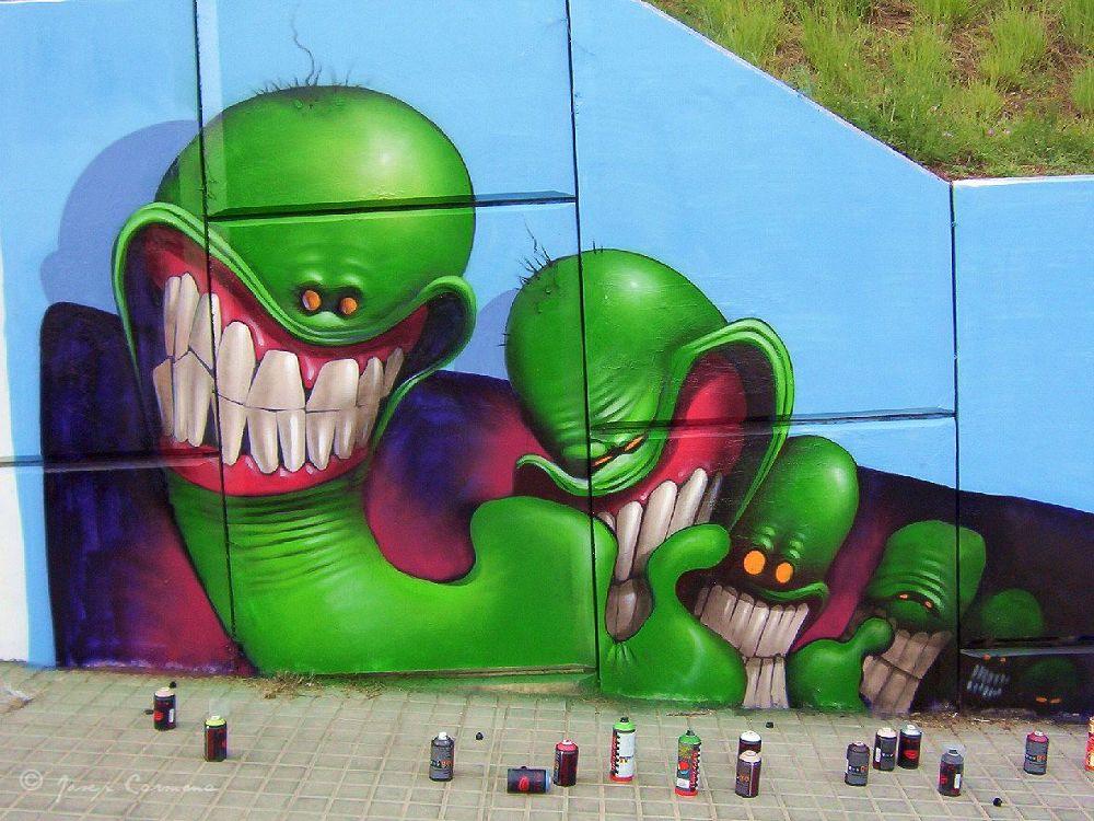 Graffiti Saturno by JosepStartecnia