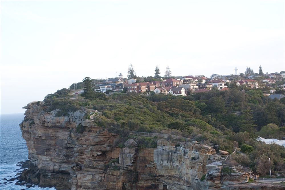 Photo in Random #sydney #cliff