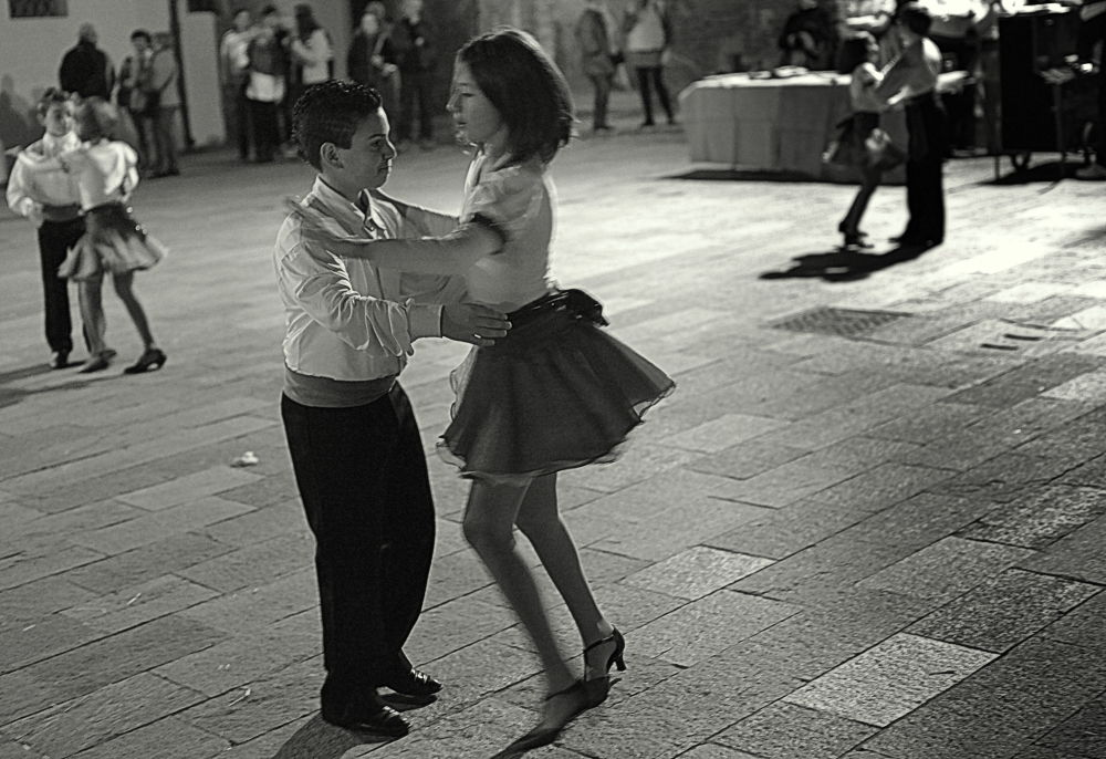 Young Dancers by Stefano Zocca