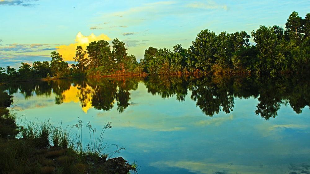 Rainbow Lake of Borneo by yudhistwira