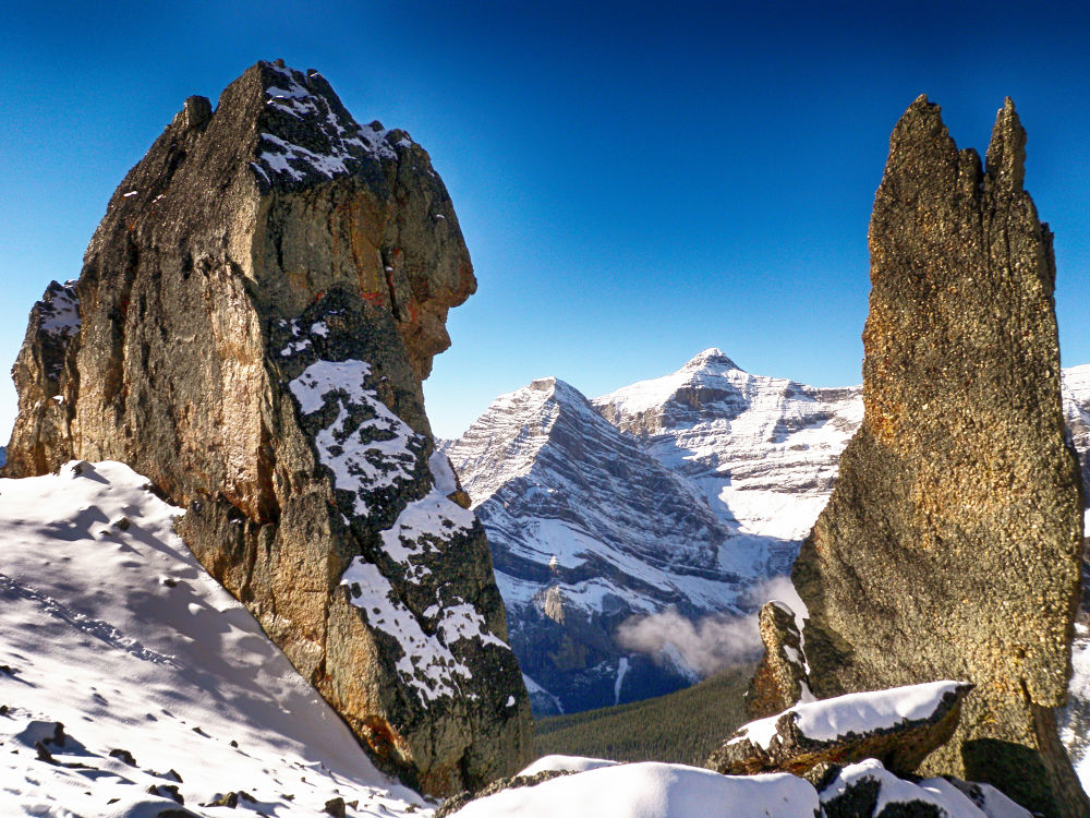 Alberta Peaks. by mountaingoat