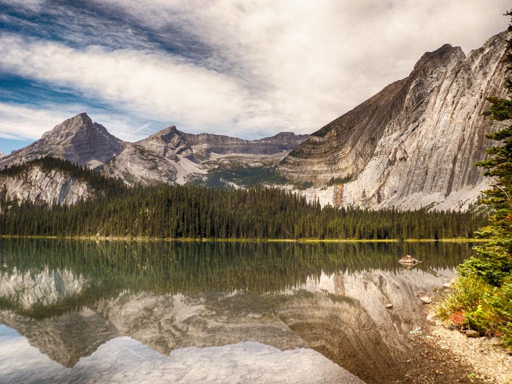 Elk Lakes, British Columbia. by mountaingoat