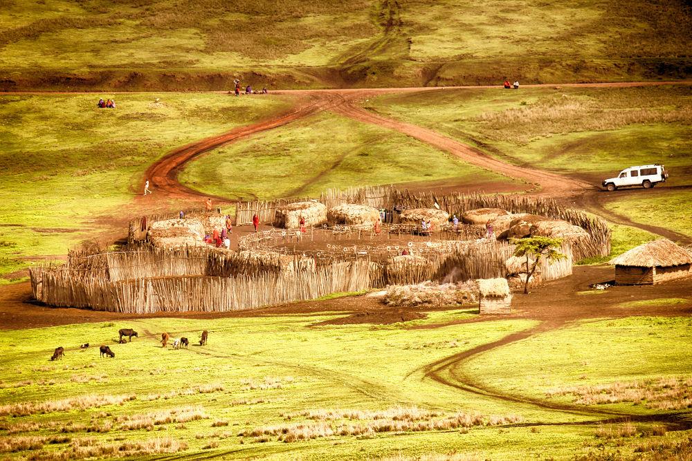 Tanzania -- Village Living. by mountaingoat