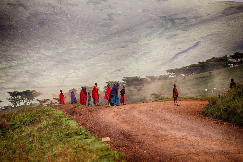 The People Of Tanzania. by mountaingoat