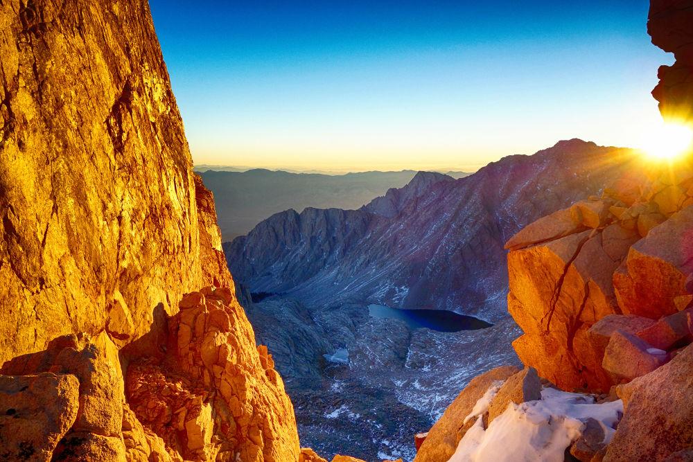 High Sierras Sunrise. by mountaingoat
