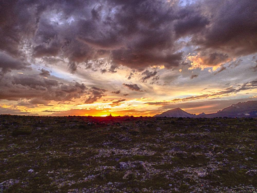 Sunset Alberta. by mountaingoat